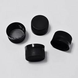 241 - Крышки черные для пластиковых флаконов
