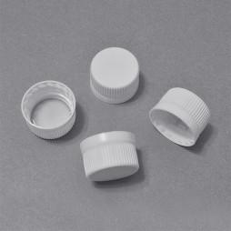 242 - Крышки белые для пластиковых флаконов