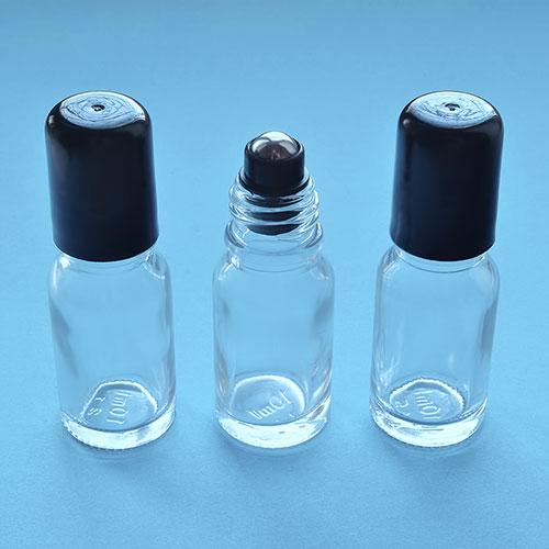 069 - Флакон стеклянный с роллером 10 мл