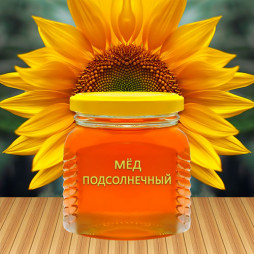 1709 - Мёд подсолнечный